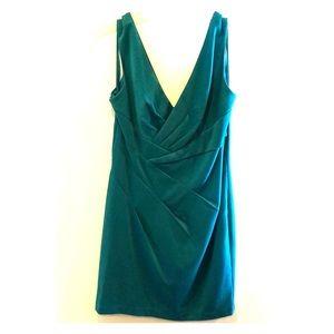 Ark & Co teal dress